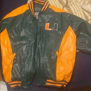 UofMiami Varsity jacket